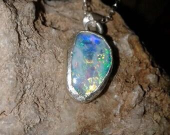 Opal shell Pendant S79