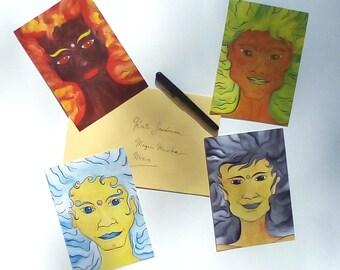 Postcards: Princes (Set of 4)