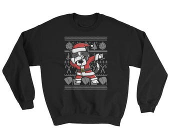 Funny Dabbing Border Collie Ugly Christmas Sweater Cute Dog Gift