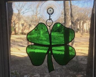 Four-leaf clover for good luck