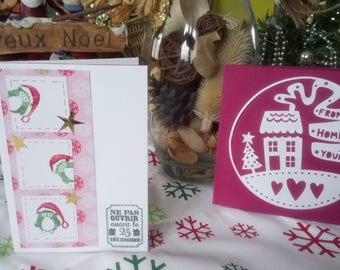 Scrapbooking Christmas cards