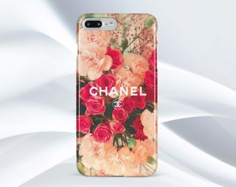 chanel iphone 8 plus case. chanel iphone 7 case floral x 8 plus iphone