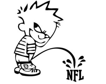 Nfl piss on decals