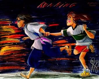 Spirited Away Drawing MARILELI
