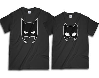 Couple Shirt, Batman Shirt, Catwoman Shirt, Couples Shirts, Valentine Shirt, Gift For Her, Gift For Him, Valentine