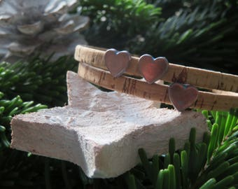 Winding bracelet with Heart