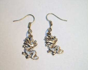 Nice dragon earrings