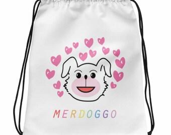 All the Love Drawstring Bag