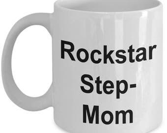 Funny Rockstar Mug - Rockstar Stepmom