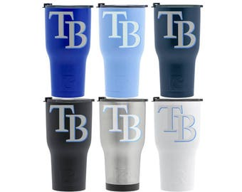 TB Tampa Bay RAYS Gifts Tampa Bay Rays Gift Rays Tumbler Custom Rays Cup Tampa Bay Rays Present Tb Devil Rays Gift for Rays Fan Gift RTIC