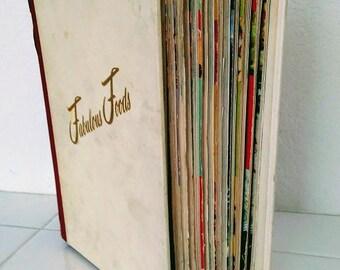 Cooking Magic Step By Step Culinary Arts Institute 1950's~12 Cookbooks ~ Vol. 2