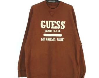 Vintage Guess Jeans Los Angeles sweatshirt XL by Georges Marciano