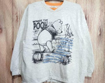 Vintage Winnie The Pooh Big character sweatshirt