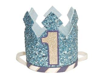 1st Birthday Crown | Boy Birthday Crown | First Birthday Crown | Birthday Crown Boy | Unisex Birthday Crown | Birthday Hat