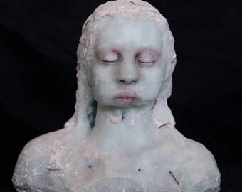 Sculpture, bust,