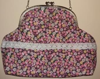 Spring Flower metal Mouthpiece bag