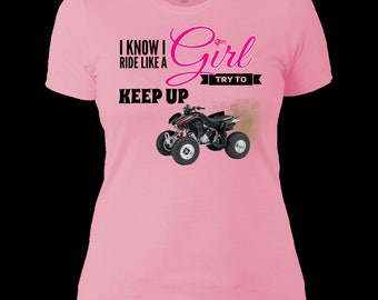 Ride Like a Girl, Try and Keep Up