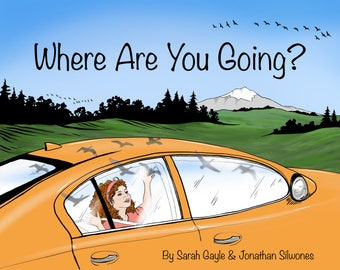 Where Are You Going? Printable Storybook, coloring book, original artwork and story, art from a sailboat