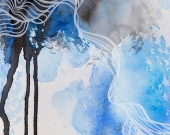 """Art card ~ """"water""""."""