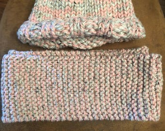 Hat and Indinity Scarf Set
