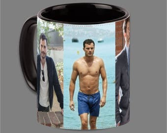 Dakota Johnson Jamie Dornan Coffee Cup Fifty Shades #0022