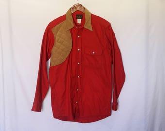Vintage Deerskin 100% Cotton Shooting Shirt