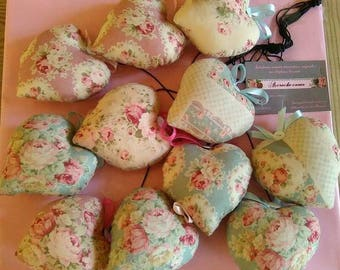 Strand 11 hearts to hang