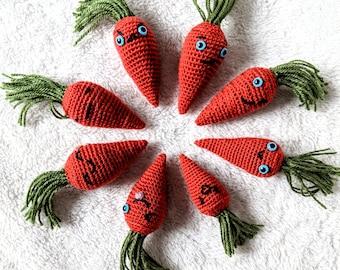 Crochet Amigurumi Doll - Easter Carrots