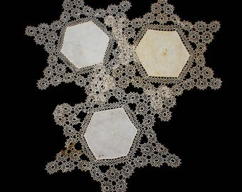 Vintage Hand Tatted Doilies