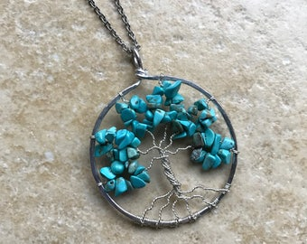 Tree of Life Blue Bewitched