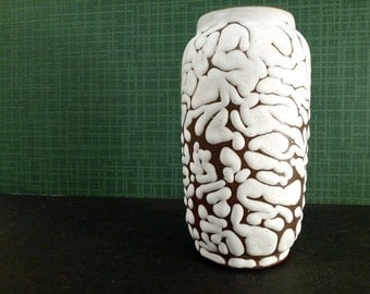 Mid Century pottery ceramic Vase fifties unsigned European
