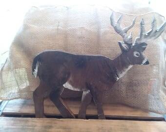 Wooden deer 12x12