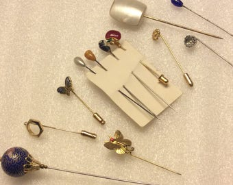 Stick Pins and Hat Pins