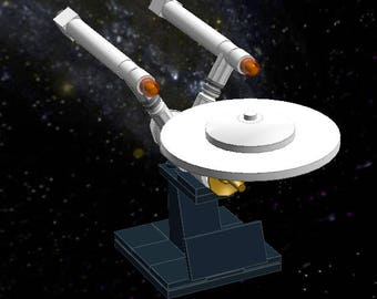 USS Enterprise - Lego Star Trek - Instructions/Parts List - Files Only