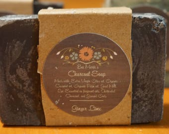 Activated Charcoal Soap With Goat Milk