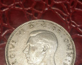Great Britain florin two shillings 1940 George V silver