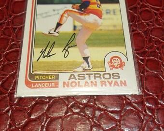 1982 O-Pee-Chee #90 Nolan Ryan Houston Astros Baseball  1 Card.Combined shipping