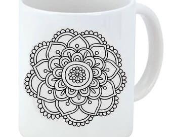 """Ceramic Cup """"Mandala Essential"""""""