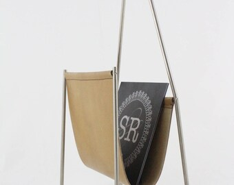Magazine rack by Carl Aubock, Austrian design