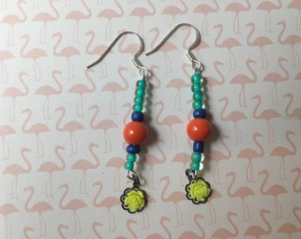 Dangling Colors earrings
