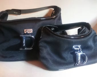 Two pouches for makeup or toiletries Christian Dior
