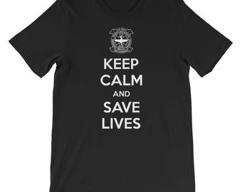 Keep Calm and Save Live SMT T-Shirt