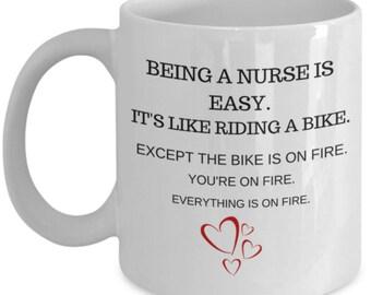 Life of a Nurse Mug