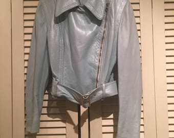 Gucci vintage leather jacket