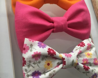 Summer Blossom Mix Midi Butterfly Bows