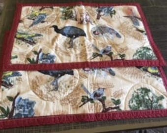 Australiana Quilted Placemats