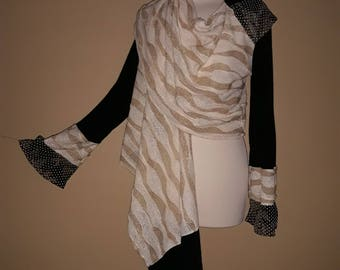 vest scarf ASAHAR