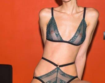 Lingeria sets, Italian lace