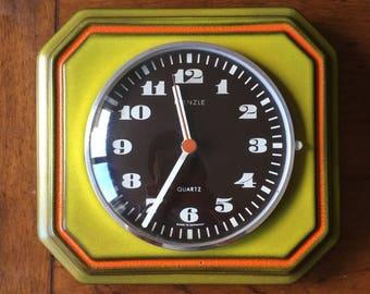 Vintage KIENZLE Quartz HERBOLZHEIMER Wall Clock.