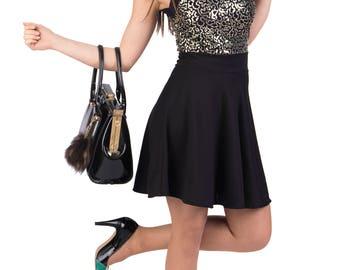 Short sequin party dress